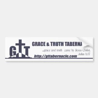Pegatina para el parachoques de GTT Etiqueta De Parachoque