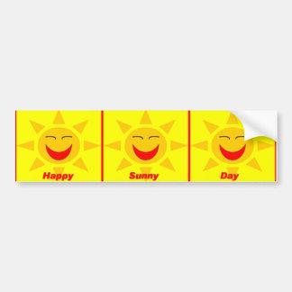Pegatina para el parachoques de HappySunnyDay Pegatina Para Auto