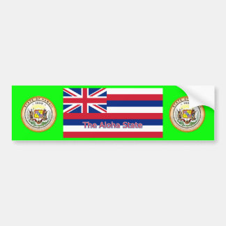 Pegatina para el parachoques de Hawaii Pegatina Para Auto