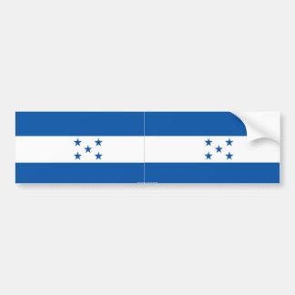Pegatina para el parachoques de Honduras Etiqueta De Parachoque