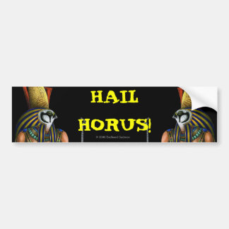 Pegatina para el parachoques de Horus Etiqueta De Parachoque