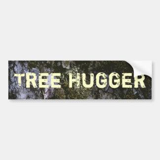 Pegatina para el parachoques de Hugger del árbol Etiqueta De Parachoque