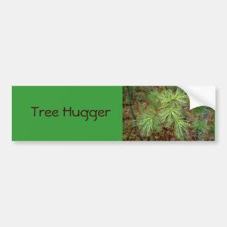 Pegatina para el parachoques de Hugger del árbol Pegatina De Parachoque