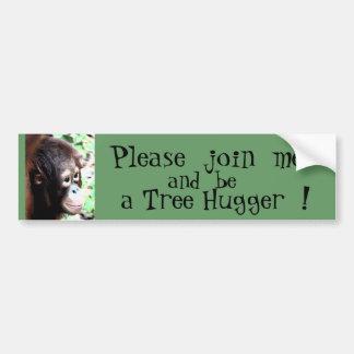 Pegatina para el parachoques de Hugger del árbol Pegatina Para Auto