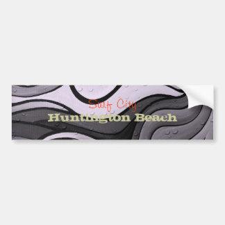 Pegatina para el parachoques de Huntington Beach d Etiqueta De Parachoque