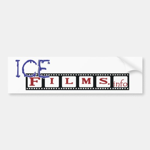 Pegatina para el parachoques de Icefilms Pegatina Para Auto