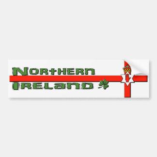 Pegatina para el parachoques de Irlanda del Norte Etiqueta De Parachoque
