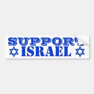 Pegatina para el parachoques de Israel de la ayuda Pegatina De Parachoque