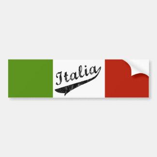 Pegatina para el parachoques de Italia Pegatina Para Auto