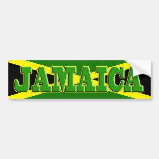 Pegatina para el parachoques de Jamaica Etiqueta De Parachoque