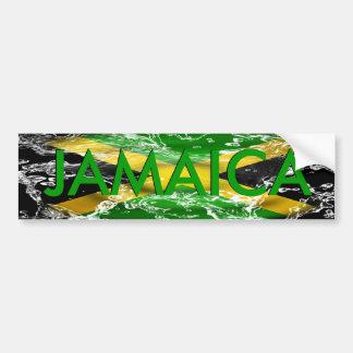 Pegatina para el parachoques de Jamaica Pegatina Para Auto