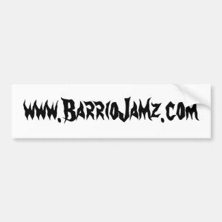 Pegatina para el parachoques de Jamz del barrio hi Pegatina Para Auto