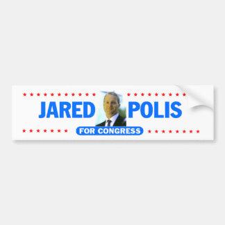 Pegatina para el parachoques de Jared Polis Pegatina Para Auto