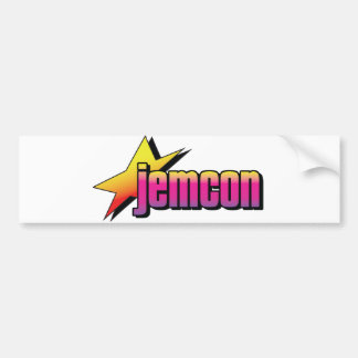 Pegatina para el parachoques de JemCon Pegatina Para Auto