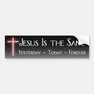 Pegatina para el parachoques de Jesús Pegatina Para Auto