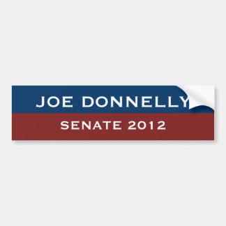 Pegatina para el parachoques de Joe Donnelly Pegatina De Parachoque