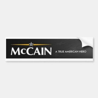 Pegatina para el parachoques de JOHN MCCAIN Pegatina Para Auto