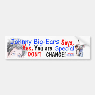 Pegatina para el parachoques de Johnny Etiqueta De Parachoque