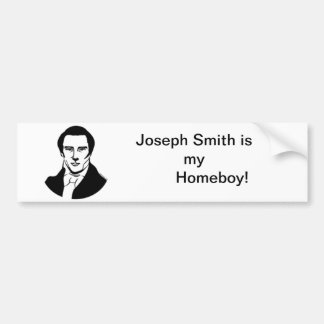 Pegatina para el parachoques de Joseph Smith Pegatina Para Auto