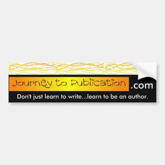 Pegatina para el parachoques de JTP: … aprenda ser Pegatina Para Auto