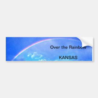 Pegatina para el parachoques de Kansas Pegatina Para Auto
