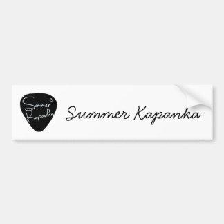 Pegatina para el parachoques de Kapanka del verano Pegatina Para Auto