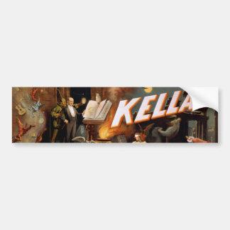 Pegatina para el parachoques de Kellar Etiqueta De Parachoque