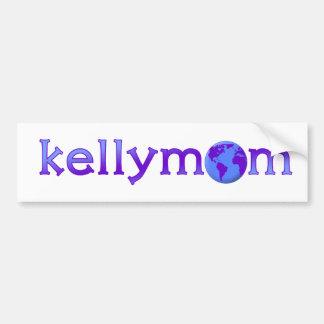 Pegatina para el parachoques de KellyMom Pegatina Para Auto