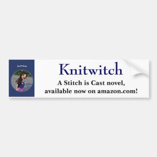 Pegatina para el parachoques de Knitwitch Pegatina Para Auto
