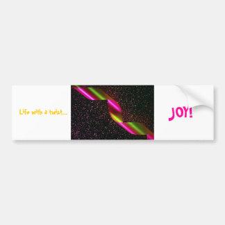 Pegatina para el parachoques de la alegría para el etiqueta de parachoque