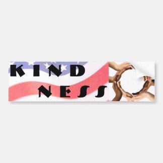 Pegatina para el parachoques de la amabilidad pegatina para auto