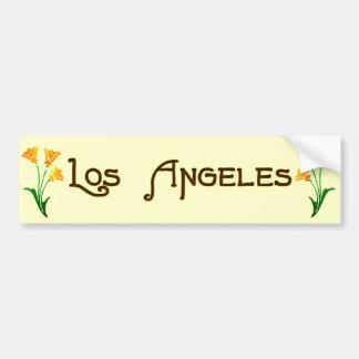 Pegatina para el parachoques de la amapola del art etiqueta de parachoque