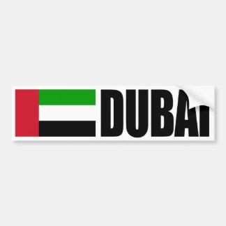 Pegatina para el parachoques de la bandera de Duba Etiqueta De Parachoque