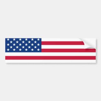Pegatina para el parachoques de la bandera de los  pegatina para auto