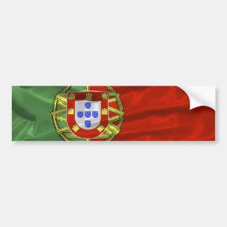 Pegatina para el parachoques de la bandera de Port Pegatina Para Auto