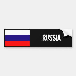 Pegatina para el parachoques de la bandera de Rusi Pegatina Para Auto
