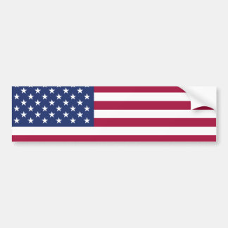 Pegatina para el parachoques de la bandera pegatina para auto