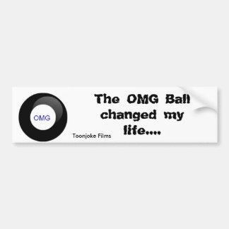Pegatina para el parachoques de la bola de OMG Pegatina Para Auto