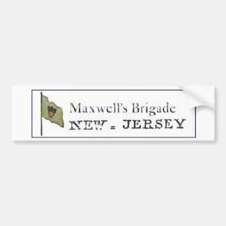 Pegatina para el parachoques de la brigada del max pegatina para auto