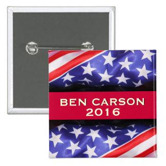 Pegatina para el parachoques de la campaña de Ben Pin Cuadrado