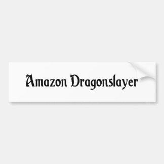 Pegatina para el parachoques de la capa del Amazon Pegatina De Parachoque