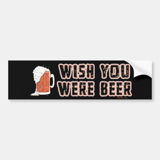 Pegatina para el parachoques de la cerveza del des pegatina de parachoque