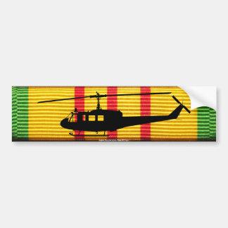 Pegatina para el parachoques de la cinta de UH-1 Pegatina Para Auto