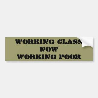 """Pegatina para el parachoques de la """"clase obrera"""" pegatina para auto"""