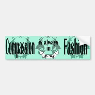 Pegatina para el parachoques de la compasión pegatina para auto