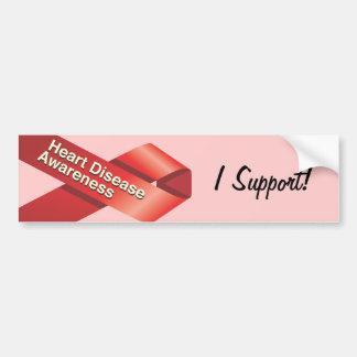 Pegatina para el parachoques de la conciencia de l etiqueta de parachoque