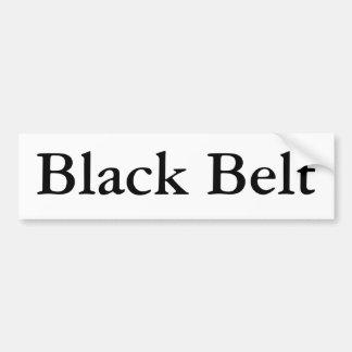 Pegatina para el parachoques de la correa negra etiqueta de parachoque