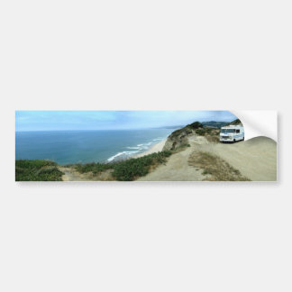Pegatina para el parachoques de la costa de Califo Pegatina De Parachoque