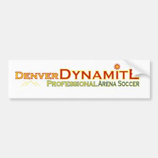 Pegatina para el parachoques de la dinamita de Den Pegatina Para Auto