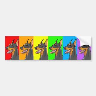 Pegatina para el parachoques de la diversidad LGBT Pegatina Para Auto